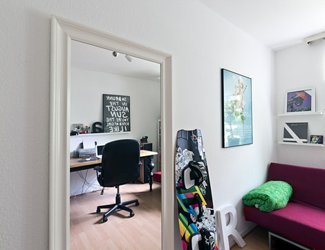Mein home office fry2k philipp pilz for Spiegel hemnes