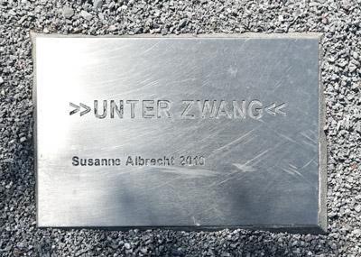 Unter Zwang Susanne Albrecht 2010 Mahnmal Johannisberg Bielefeld