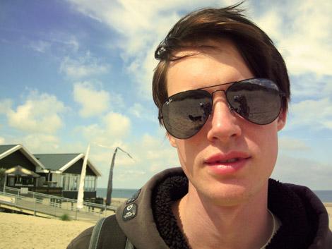 Philipp am Strand in Schouwen-Duiveland