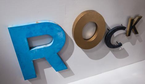 ROCK, Buchstaben, imm_cologne