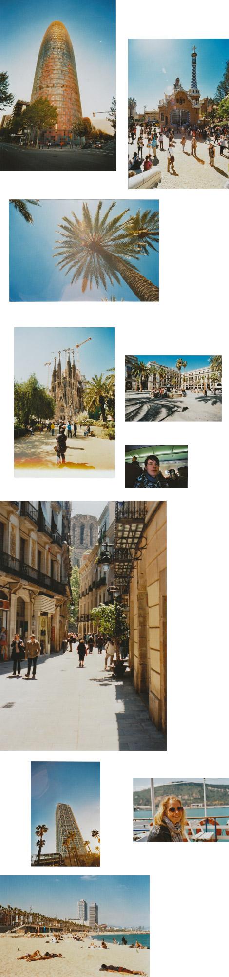 Barcelona mit Canon A-1