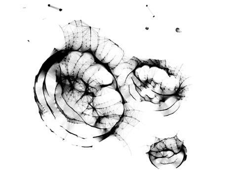 Netzgrafiken Generative Gestaltung