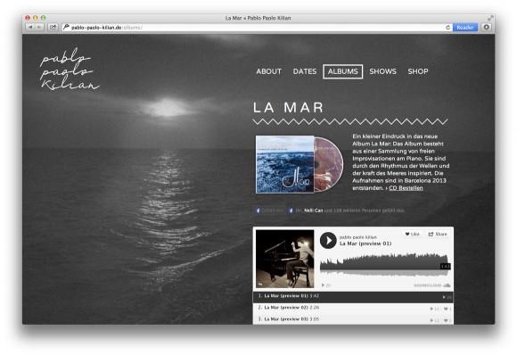La Mar Website Pablo Paolo Kilian