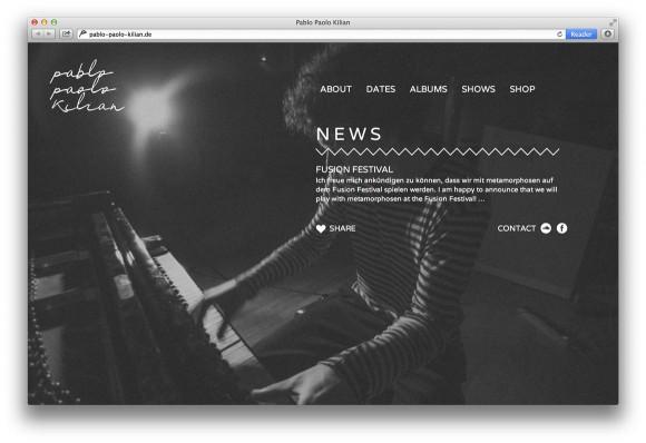 News Website Pablo Paolo Kilian