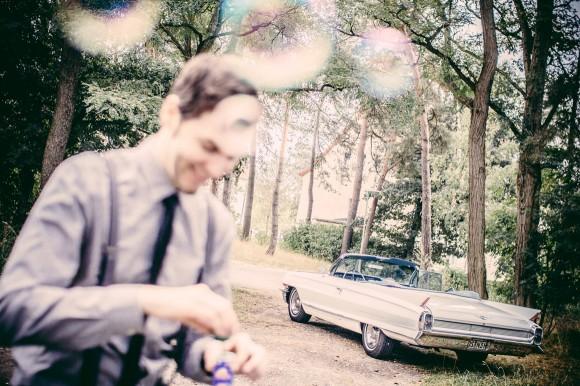 Cadillac Fleetwood Hochzeitsfotografie