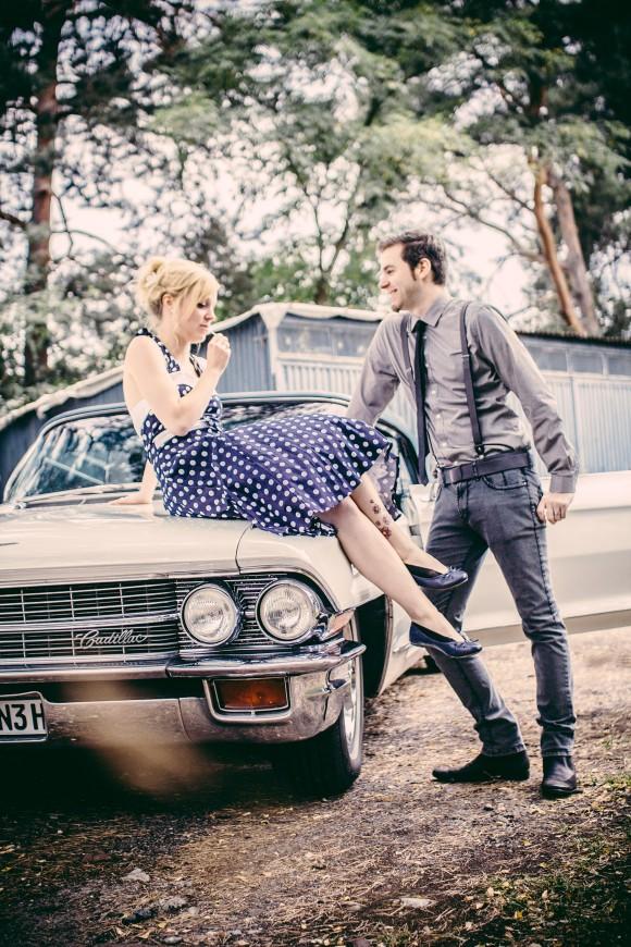 Sigma 30mm Hochzeit Vintage Look