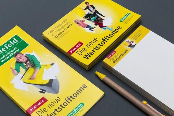 Drucksachen, Die neue Wertstofftonne, Umweltbetrieb Bielefeld