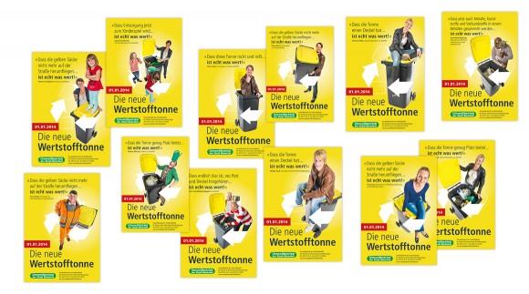 Anzeigen, Die neue Wertstofftonne, Umweltbetrieb Bielefeld