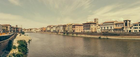 Pisa, Fluß Arno
