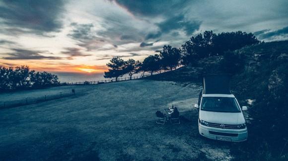Populonia Sonnenuntergang