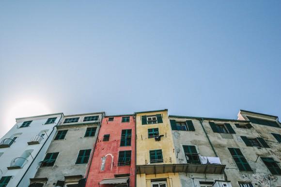 Portovenere Häuser