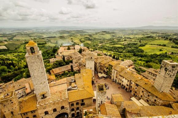 San Gimignano Turm