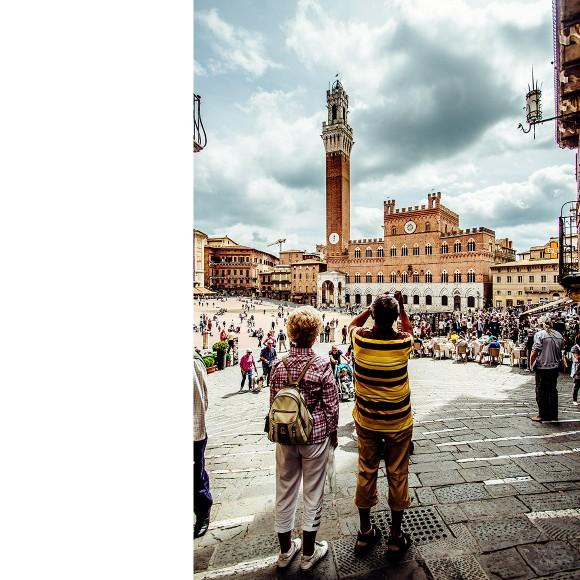 Foto, Siena