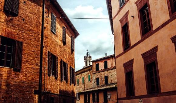 Strassen von Siena