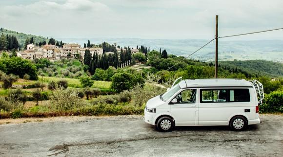 VW California, Toskana