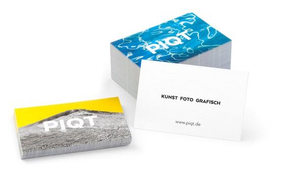Visitenkarten für www.piqt.de