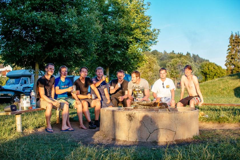 Kanutour Lahn Teilnehmer