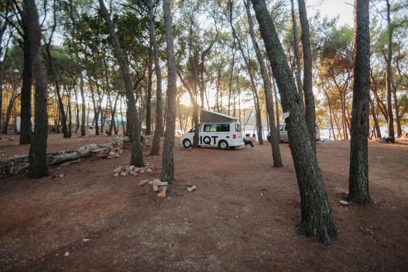 Das Camp Mina, hier bleiben wir gerne 3 Nächste am Stück.