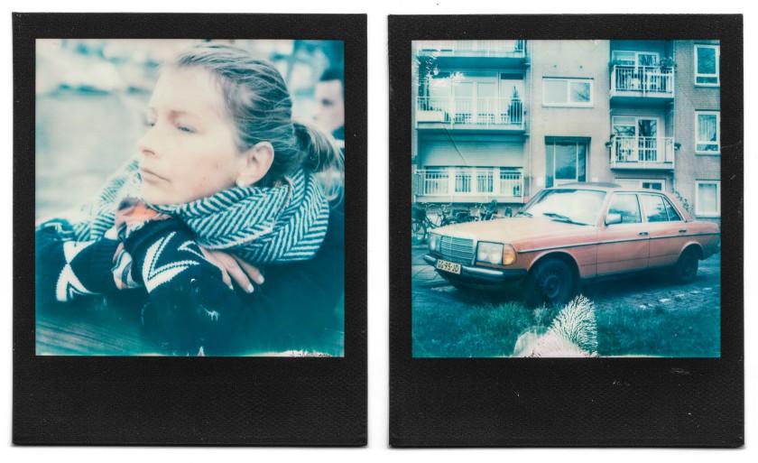 Polaroid SX70, Black Frame: Meine Ausbeute aus Amsterdam.