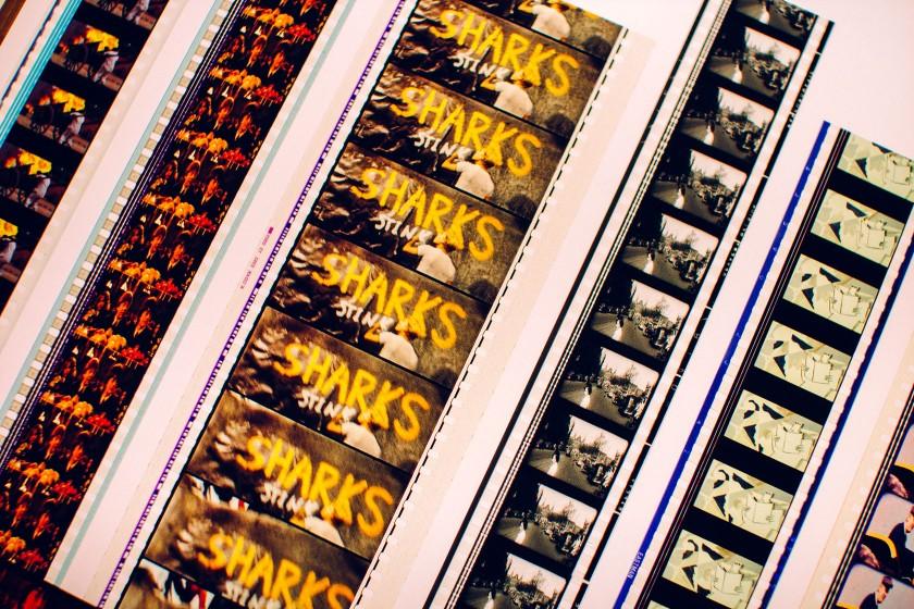 Originale Filmstreifen in den unterschiedlichsten Formaten.