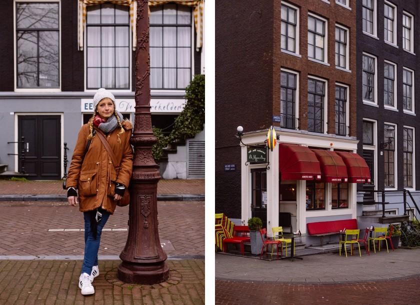 Wir erkunden zu Fuß die Stadt mit den ganzen schönen Häuschen, Bars und Kanälen.