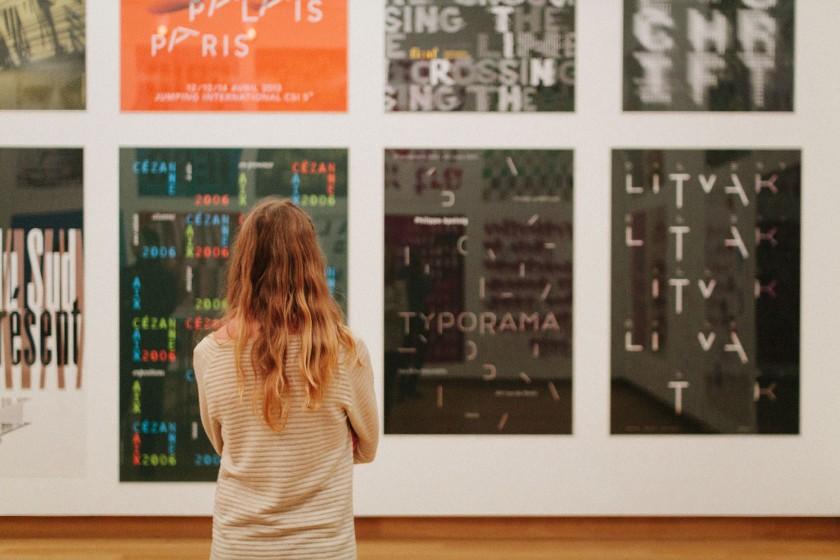 Grafikdesign aus den Niederladen wird in der ersten Etage des Stedelijk ausgestellt. Die gezeigten Werke sind sehr gut.