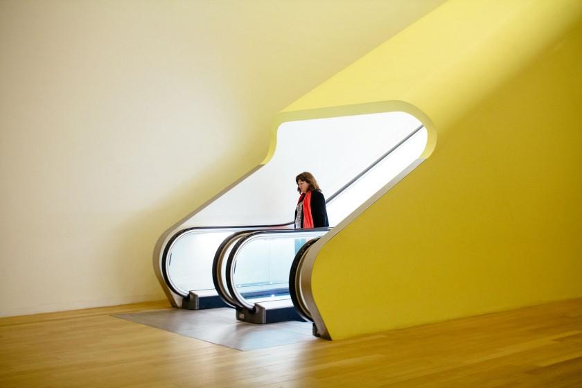 Die Rolltreppe im Stedelijk schafft es mich sehr lange zu begeistern.