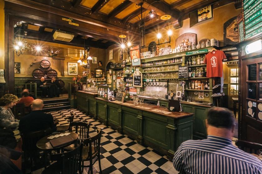 """Das Bierlokal """"In De Wildeman"""" ein Ort der Glückseligkeit."""