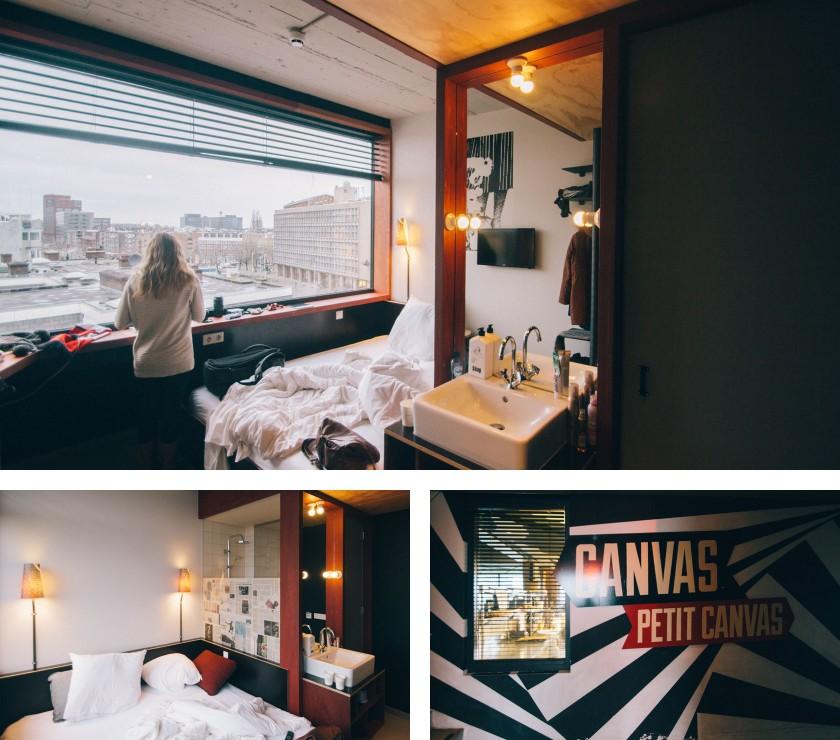 Unser Hotel in Amsterdam: Das Volkshotel.