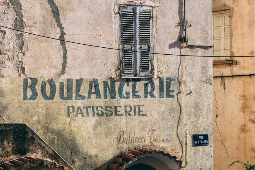 Boulangerie Corte Korsika