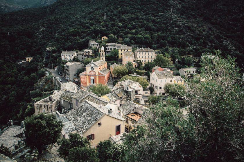 Nonza auf Korsika
