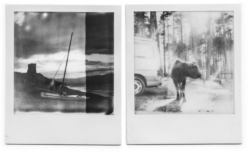 Polaroids von der Insel Korsika