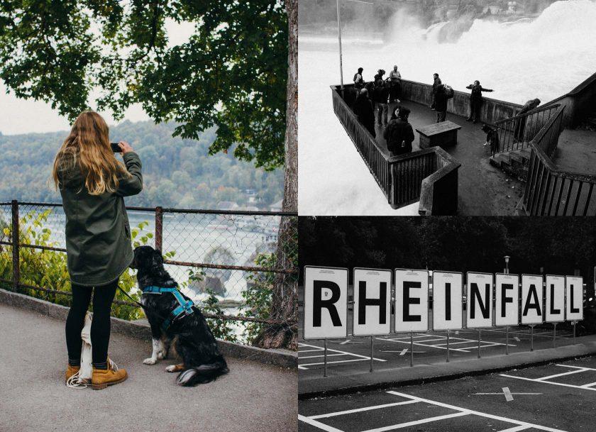 Der Rheinfall, in der Nähe der deutschen Grenze, ist durchaus eine Reise wert.