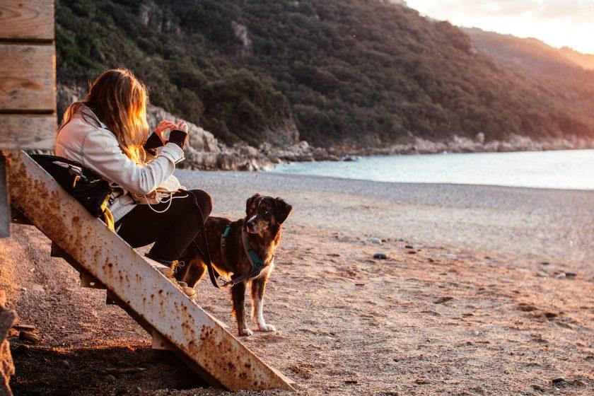 Sonnenuntergang auf Korsika