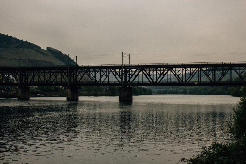 Doppelstockbrücke Bullay an der Mosel