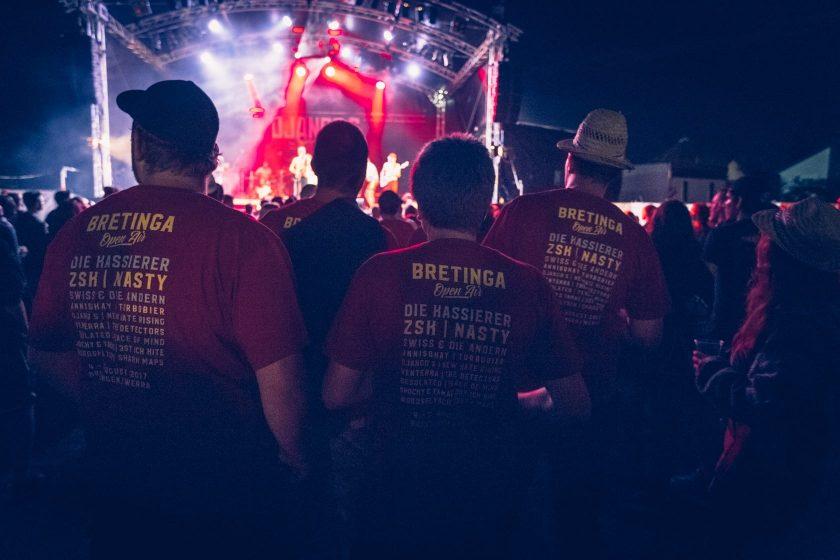Bretinga Festivalshirt 2017