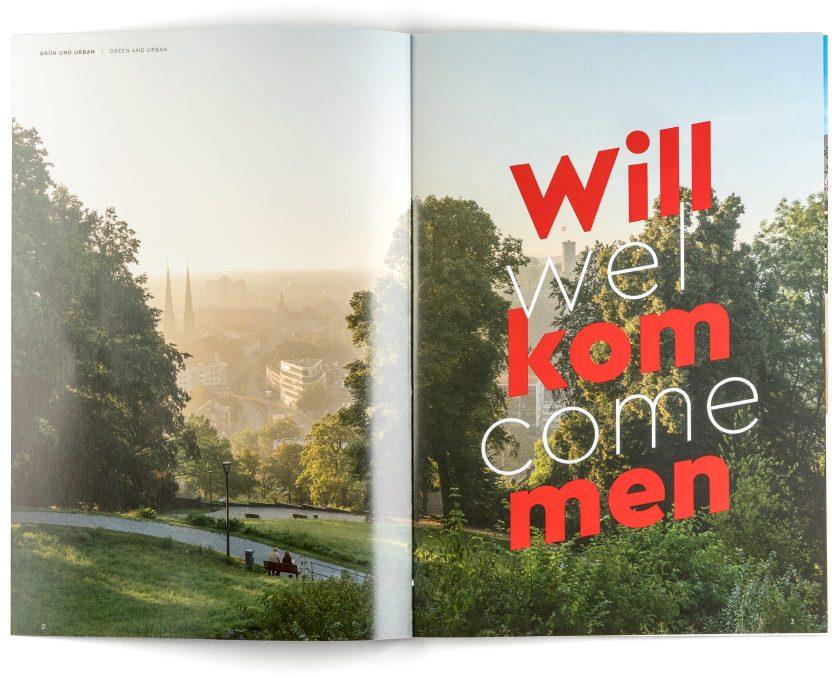 """Imagebroschüre Bielefeld """"Willkommen"""""""