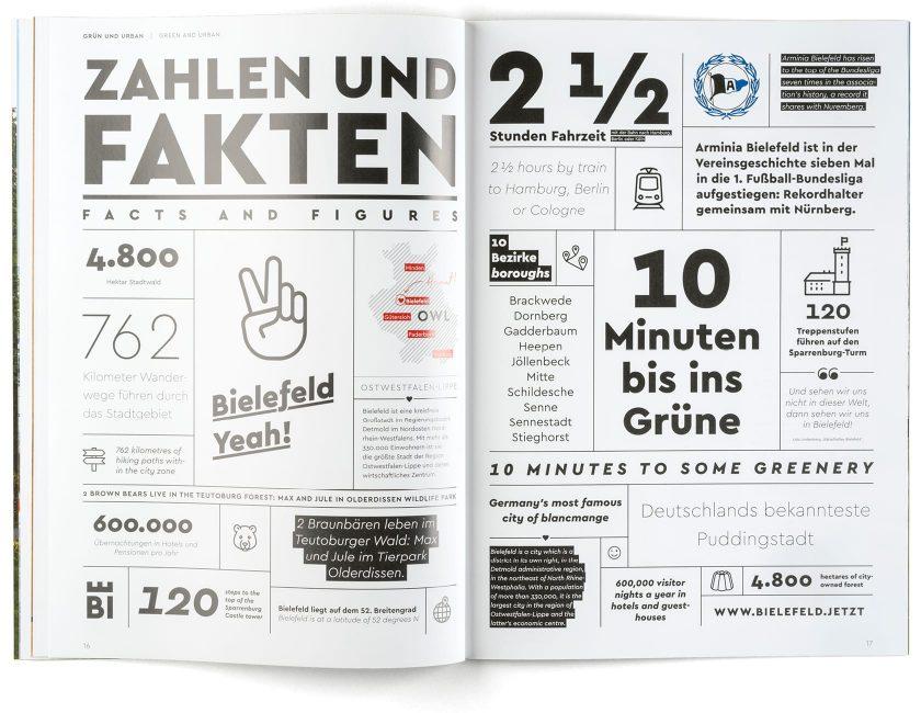 Imagebroschüre Bielefeld Zahlen und Fakten