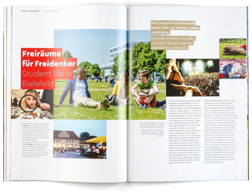 Imagebroschüre Bielefeld