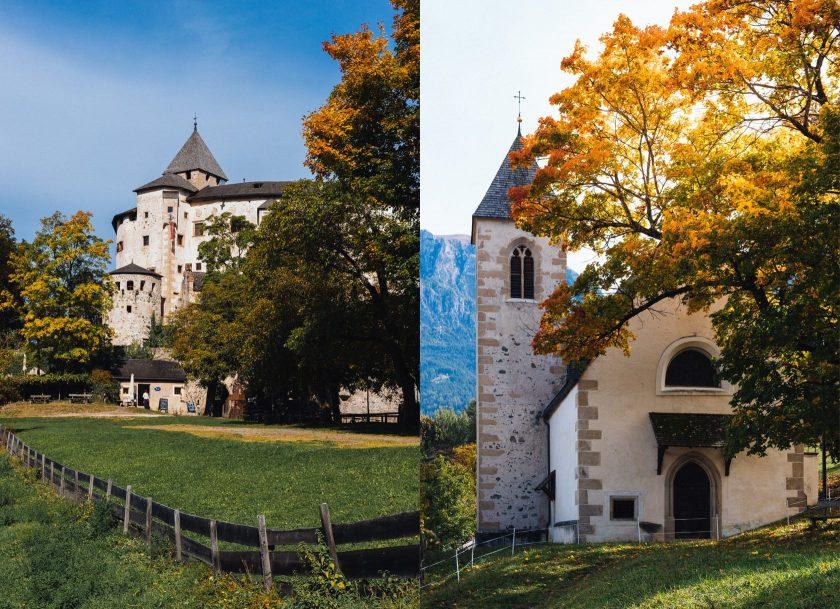 Das Schloss Prösels in Südtirol.