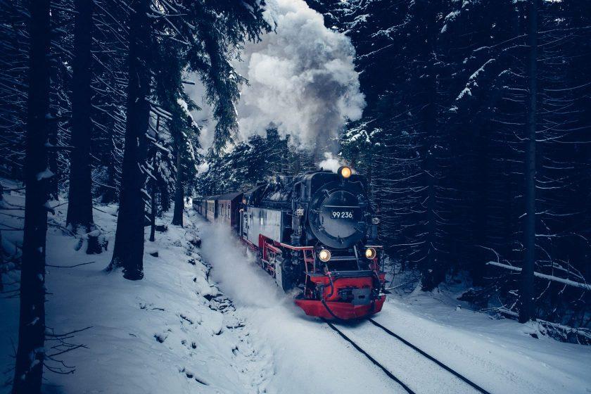 Die legendäre Brockenbahn fährt täglich mehrmals auf den Brocken.
