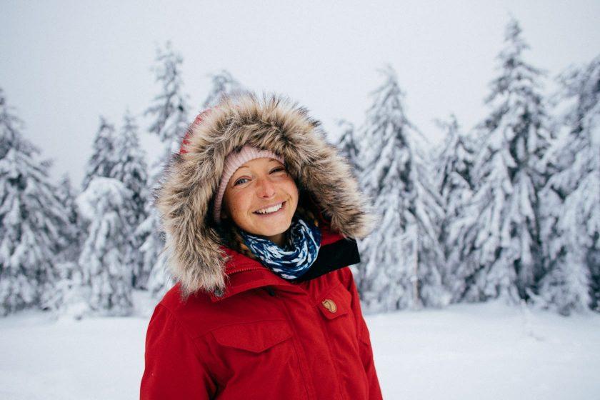 Auf dem Brocken liegt im Winter immer Schnee – das sorgt für gute Laune!