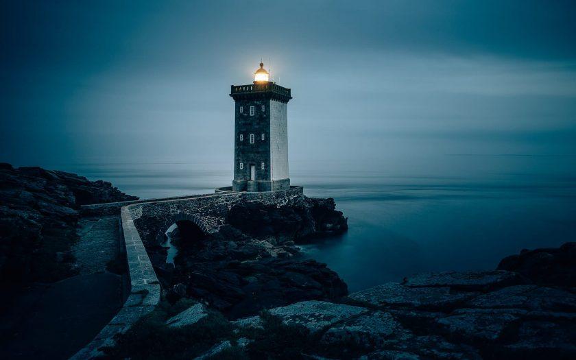Pointe de Kermorvan, Bretagne