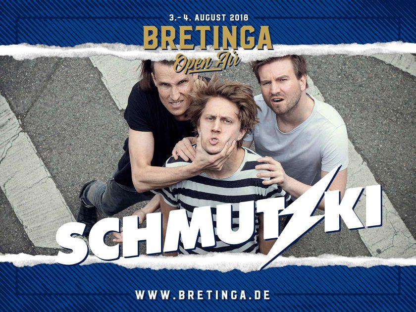Bretinga 2018 – Bandankündigung für Facebook und Social Media