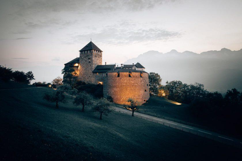 Schloss Vaduz in Lichtenstein