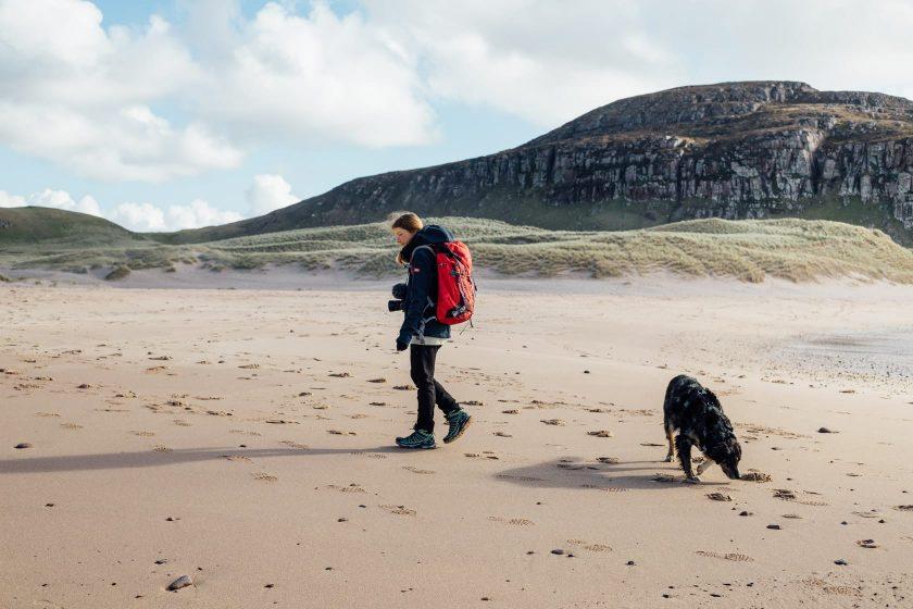 Sandwood Bay Beach, Schottland