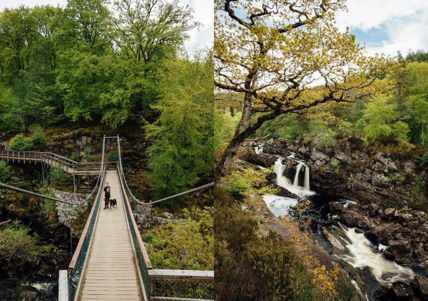 Rogie Falls, Schottland