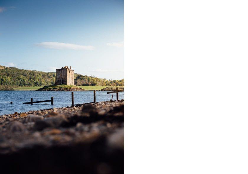 Castle Stalker, Schottland.