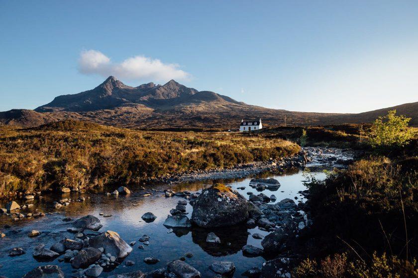Sligachan, Isle of Skye, Schottland