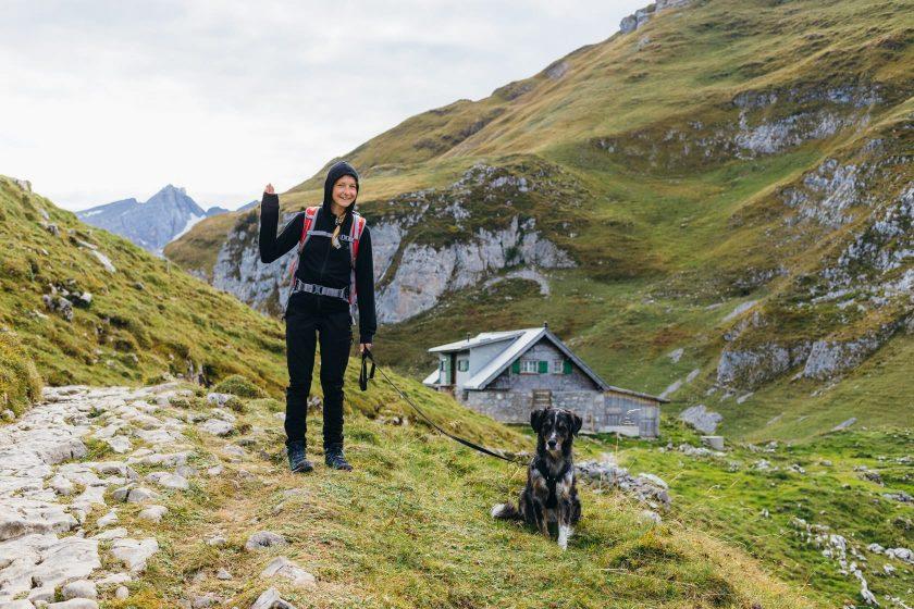 Auf dem Weg zum Schäfler im Schweizer Alpstein Gebirge.